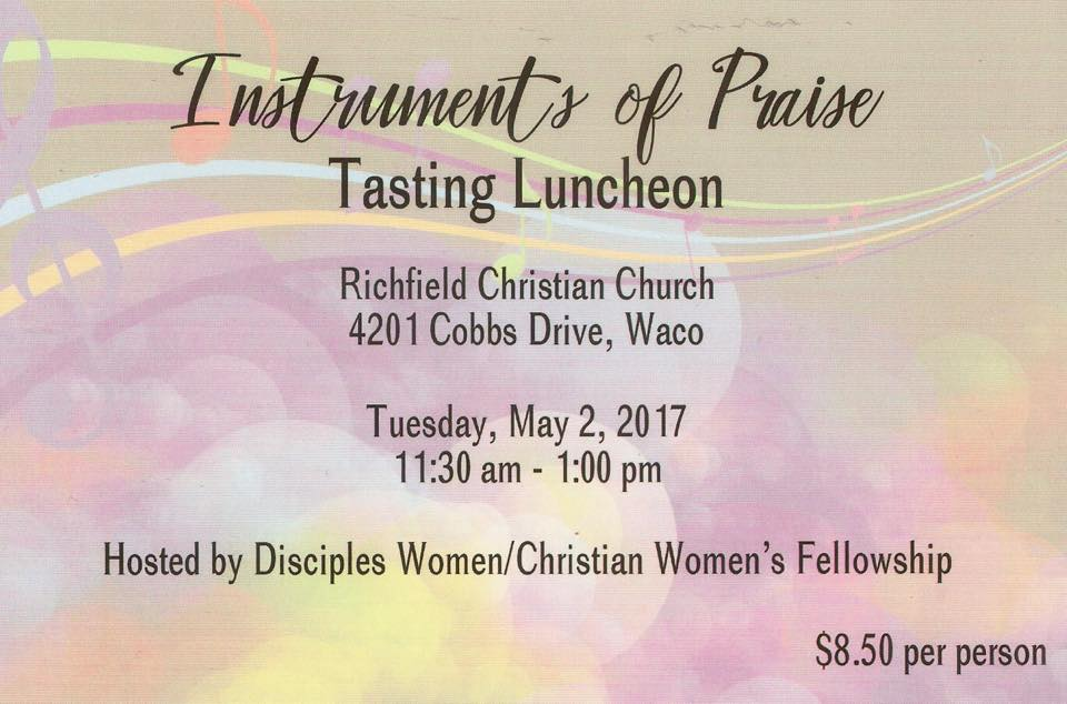 Tasting Luncheon Flyer